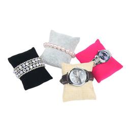Bijoux montre oreiller montre 2019 20pcs petite flanelle de lin ? partir de fabricateur