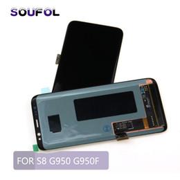 Assemblée de numériseur d'écran d'affichage d'affichage à cristaux liquides d'affichage de lcd de galaxie de Samsung pour l'écran tactile d'affichage à cristaux liquides de Samsung S8 G950F ? partir de fabricateur