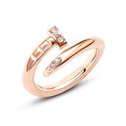 Fantasia unhas anel para o homem Mulher de Moda de Nova 18K real Ouro Platinum Rose banhado a ouro designer de jóias de luxo da marca com logotipo e caixa de Fornecedores de senhoras prata anéis pedra vermelha