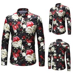 c785e3a71e911 Print Pattern Men Shirt Long Sleeve Spring Autumn Casual Shirt Plus Size  M-7xl Slim Fit Male Blouse Men Camisa Masculina