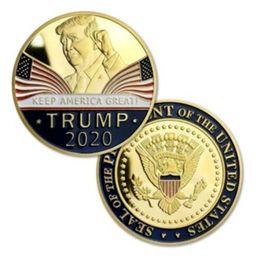 винтажный офисный телефон Скидка Дональд Трамп 2020 держите Америку большой памятный вызов монета оптовая цена горячий продавать DHL корабль