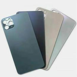 iphone 5c capa da habitação traseira Desconto iPhone 20pcs Voltar Bateria Tampa do Vidro + Adhesive Para a Apple 8 8p X Xr Xs 11 Pro substituição Max Rear Door Habitação DHL grátis