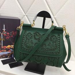 Bolso hueco online-bolsos de diseño de la flor del hueco del estilo bolsas de diseño de primera calidad D G totalizadores del bolso mujeres de la moda bolsos
