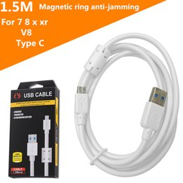 2019 usbübertragung Datenkabel Typ C / Micro-USB Mit magnetischer Ringabschirmung, störungsfrei, schnellere und stabilere Datenübertragung. Mit Retail-Paket günstig usbübertragung
