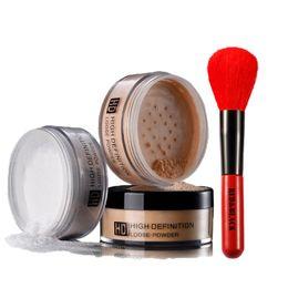 Redblack 2 unids Set de maquillaje Hd Highlighter Bronzer Powder Cosmetic Pro Face diariamente con pinceles en polvo con un kit de alta calidad desde fabricantes