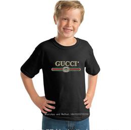 Ropa fina online-Nuevo Patrón Niño Grande de Dibujos Animados de Algodón Puro de Manga Corta T camiseta linda camiseta de los niños de Calidad Fina Ropa para niños 0317