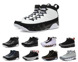 Novos 9 Lakers Posto Yellow Kobe Space Jam Antracite cobre Estátua Barons Mens tênis de basquete J9 sneakers s 9s IX Shoes de Fornecedores de tecido de veludo preto barato
