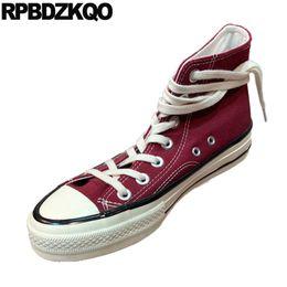 простые белые верхние ботинки Скидка белые кроссовки кроссовки холст обувь старые пекинские ткани женские кроссовки зашнуровать красное вино джинсовые джинсы высокий верх дышащий повседневная