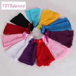 d7cee3898 Retail 2017 New 15 colors available Children Kids Girl Chiffon Ballet Tutu  Dance Costume Skirt Skate Wrap Scarf 5165