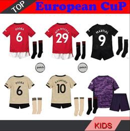 Lin trikot online-2020 Kinder Uni-ted PO-GBA MAR-TIAL Maguire Man rote Fußball Jerseys 19 20 UTD RASH-FORD Fußball Jersey Shirts LIN-GARD Camiseta de futbol