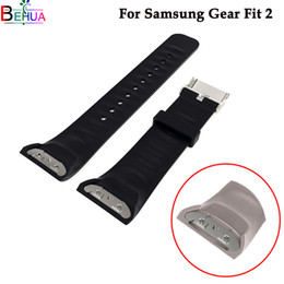 Спортивные часы онлайн-Silicone Sport wristband Watch band For Samsung Gear Fit 2 watch SM-R360 smart For Samsung Gear S2 watchbands Accessories
