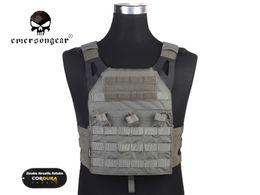 Argentina Emersongear JPC Chaleco versión simplificada Tactical Jumper carrier Chaleco Combat Gear Soporte de espalda Follaje verde FG EM7344F # 256183 cheap gear vest Suministro