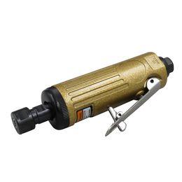 Smerigliatrici ad aria online-Meterk Air Die Grinder 1/4 pollici Angolo pneumatico Die Grinder Tool Air Angle Lavorazione del legno Rettificatrice Cacciavite