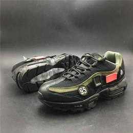 Zapatillas de correr frescas y respirables online-Limited 95 HAL Japan Cool Black Jogging Zapatillas de running Hombre Mujer Zapatos de diseño Transpirable Cushion Trainer Sneaker
