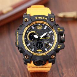 Buono digitale online-I più nuovi orologi sportivi da uomo relogio G, orologio da polso cronografo a LED, orologio militare, orologio digitale, buon regalo per uomo ragazzo, dropship ga