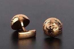 Botones de estilo online-Venta al por mayor y al por menor de calidad superior de los hombres camisa Cuff Links marca Cuff Button como hombres boda Gemelos Groomsman regalo 14 estilo