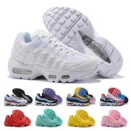 2522cb17b7a 95 Running Shoes For Womens men Neon Grape Panache Greedy 95s Triple White  Black Yellow Red Designer Sports Sneakers 36-46 95 shoes promotion