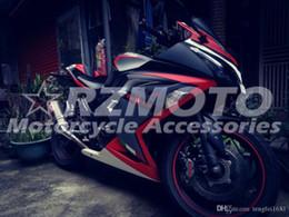 Nuevo kit de carenados ABS bicicleta para Kawasaki Ninja 300 EX300 2013 2014 2015 2016 2017 carenado piezas de la motocicleta por encargo libre Mate Negro Blanco Rojo desde fabricantes