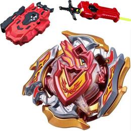 2019 brinquedos de mestres beyblade New Toupie Beyblades Metal Fusão Top Beyblade Burst 4D Master Bayblade Bey Lâmina Com Lançador Beyblade Brinquedos Para Crianças Menino desconto brinquedos de mestres beyblade