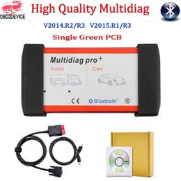 2019 connecteur opel 16 broches Outil de diagnostic Multidiag Pro avec logiciel Bluetooth V2015.R1 / R3 TCS CDP PRO de Bluetooth Même fonction que le scanner automatique MVDiag
