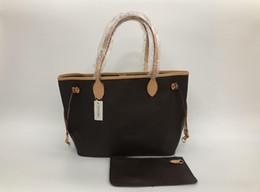 2019 nuevas mujeres bolsos de cuero mujer madre paquete bolsa mano madre de embarque bandolera bolso de mujer + bolso pequeño N51106 M40157 desde fabricantes