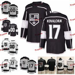 8b22bd4ff 2019 Customize Ilya Kovalchuk Los Angeles Kings Stitched Jerseys Custom  Alternate Grey Shirts  17 Ilya Kovalchuk Hockey Jerseys S-XXXL