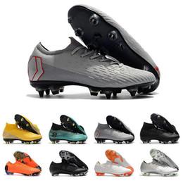 zapatos de fútbol de corte alto Rebajas Clásico copa mundial Hombres Corte alto Corte bajo Mercurial Superfly Tacos de fútbol CR7 chuteiras de futebol Chicos Botas de fútbol Zapatos de fútbol Futsal