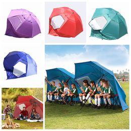 guarda-chuvas desportivos ao ar livre Desconto Guarda-chuva de praia de Oxford multi-função sombrinha guarda-chuva de pesca de chuva dossel guarda-chuva para a praia e eventos esportivos ao ar livre aparelhos LJJZ377