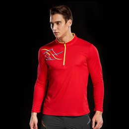 2018 New Autumn Anti-uv Hiking T-shirt Men Quick Dry Fitness Jersey Outdoor  Trekking Sport Long Sleeves T Shirt Fishing Clothing 350450315