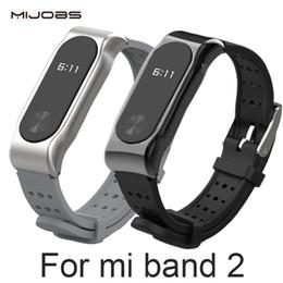 Xiaomi Mi Band 2 Bracelet Sangle Miband 2 Bracelet De Sport Bracelet En Métal Bracelet De Remplacement Smart Band Accessoires Pour Mi Band 2 ? partir de fabricateur
