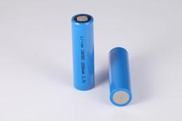Lampes de poche en Ligne-Batterie lithium-ion rechargeable 18650 3.7V 2000mAh à dessus plat de haute qualité pour lampe de poche et éclairage