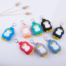 2019 pinguim dos desenhos animados bolsas 25 PÇS / LOTE Mulheres Dos Desenhos Animados Coin Bolsas Mini Carteiras Bonito Animal Pinguim Moeda Saco Pequeno Bolso Carteira pinguim dos desenhos animados bolsas barato