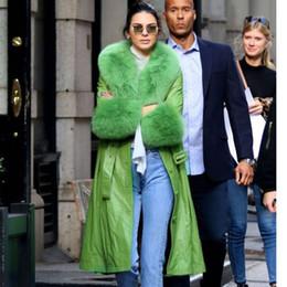 abrigo de visón plateado Rebajas Marca más nueva manera especial de manga larga cuero del diseñador del abrigo de pieles Kendall Jenner Cardi B de piel falsa de lujo de la ropa exterior Vintage trabajo informal