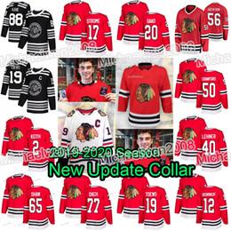 2019-2020 Nouveau collier Blackhawks de Chicago Patrick Kane Lehner Jonathan Toews ? partir de fabricateur