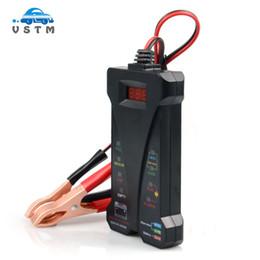 Analisador de motocicletas on-line-Voltímetro do verificador da bateria de 12V Digitas e exposição do LCD do analisador do sistema de carregamento para a motocicleta do carro