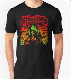 King Gizzard /& Lizard Wizard Crocodile Tote Men/'s T-shirt S to 3XL Black