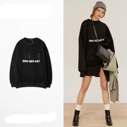 Mulheres suéteres coreanas suéteres on-line-Casais suéteres homens e mulheres versão coreana da tendência de estilo solto chique além de jaqueta de veludo hip hop Hoodies das mulheres