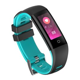 Умный здоровый браслет онлайн-G16 0,96 дюймов Цветной Экран Монитор Артериального Давления Smartwatch Smartwatch Браслет для iOS Android Здоровый Браслет