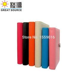 livros de bolso chineses Desconto Grande Fonte Notepad 9 Anéis Capa De Couro Binder Caderno 2018 Calendário Planejador Agenda
