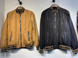 Мужская дизайнерская куртка горячая распродажа дизайнерское пальто повседневные роскошные куртки полиэстер с длинным рукавом спортивная верхняя одежда объявление ветровка.A76 от