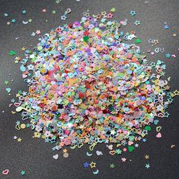 2020 arte da flor do prego da flor 3 milímetros de casamento Decoração Confetti Nail Art DIY Borboleta Flor Marige Tabela Scatters de aniversário do Natal Halloween decorativa arte da flor do prego da flor barato