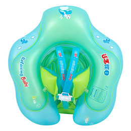 Brinquedos infláveis antigos on-line-Anel de Natação do bebê Acessórios de piscina inflável Axila flutuante Círculo de banho Dupla jangada anéis brinquedo 1-6 Anos de idade