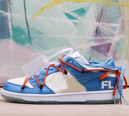 2019 sb laces FUTURA x SB Dunk Sapatos de Basquete Dos Homens Das Mulheres Azul Branco Sports Formadores Sneakers des chaussures cestas zapatillas de baloncesto Zapatos sb laces barato