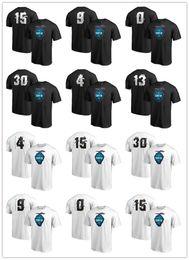 футболка спортивная Скидка 2019 горячие Мужские спортивные футболки черный белый размер S-4XL заказ смешивания пользовательские любое имя номер лето с коротким рукавом футболки