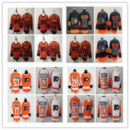 cd3613fbf 2019 Stadium Series Philadelphia Flyers 79 Carter Hart 28 Claude Giroux 17  Wayne Simmonds 11 Travis Konecny 19 Nolan Patrick Hockey Jerseys