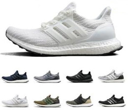 000e7fa55 New Arrival Ultra Boost 3.0 4.0 Running Shoes men women Triple Black white  CNY Oreo blue 3.0 Primeknit sports sneakers discount ultra boost triple  black