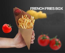 Canada vente en gros français frites boîte cône chips preuve d'huile sachet puces tasse parti emporter paquet de papier de nourriture Offre