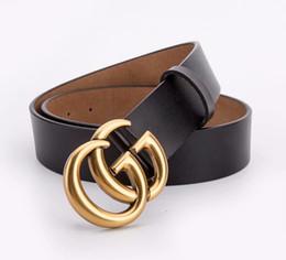 Argentina 2019 Llegada Cinturón de lujo Hombres Diseñador Cinturones Mujeres Alta calidad Masculino Casual genuino Cuero real logotipo grande hebilla de cinturón hombres / mujeres. Suministro
