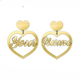 orecchini di marca migliori Sconti (Qualsiasi parola) Orecchini personalizzati in acrilico personalizzati