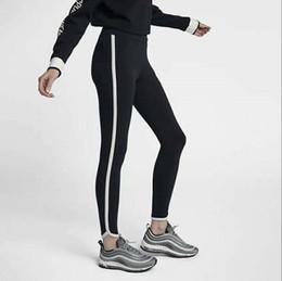 2020 New FN893641 Frauen Hose mit hohen Hüfte Eng Elastizität Solide Hose Fitness Jogginghose Workout Laufsport Pflanzen Hosen Jogger